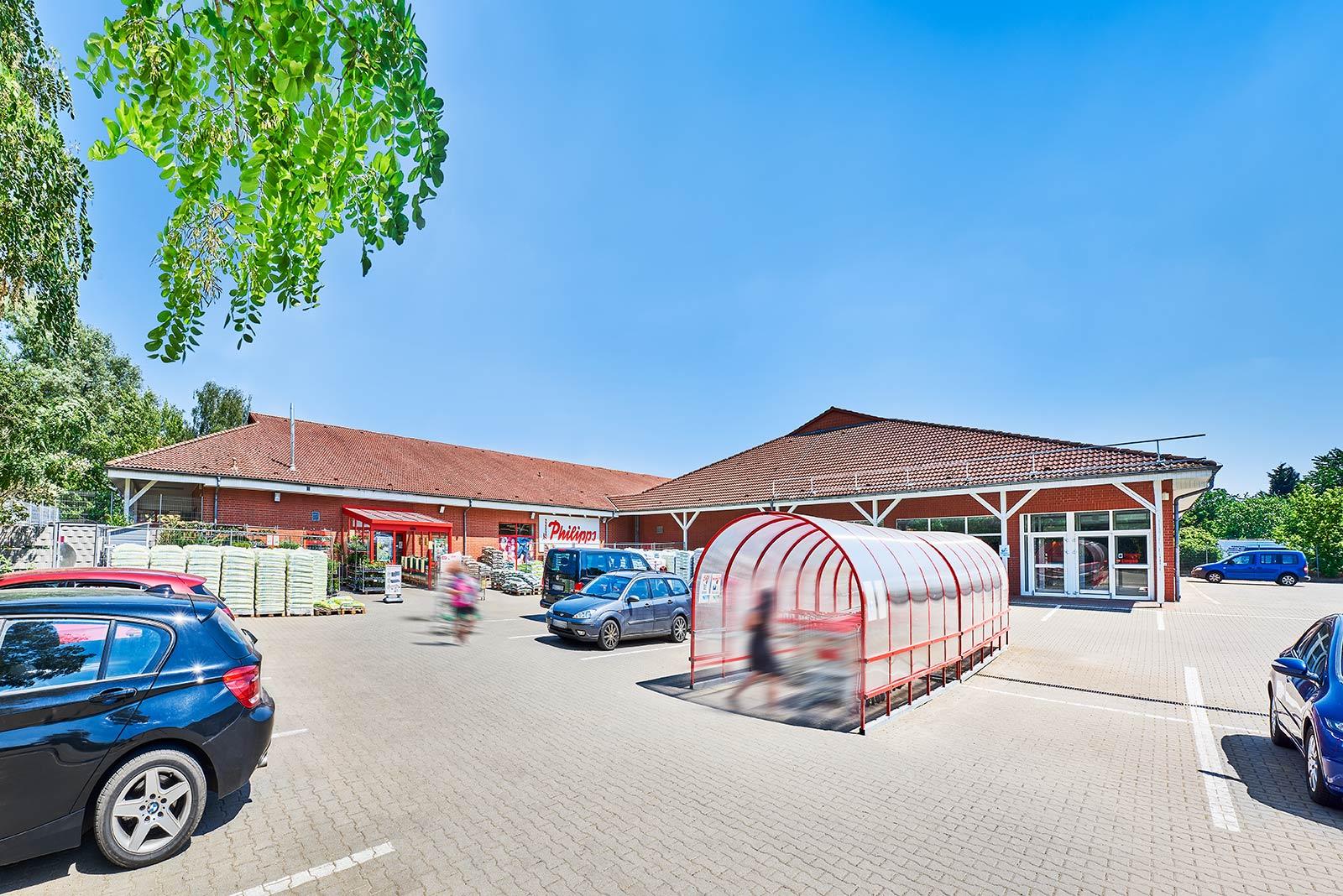 Immobilie in Tangermünde: Single-Tenant: Sonderpostenmarkt